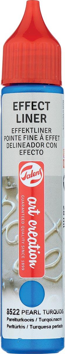 Talens Art Creation effect liner, parel turkoois