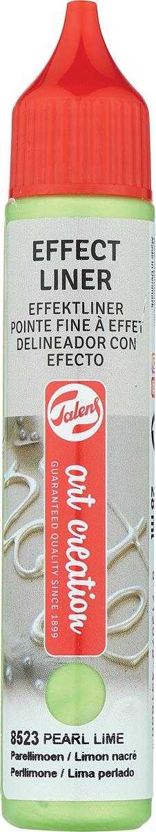 Talens Art Creation effect liner, parel limoen