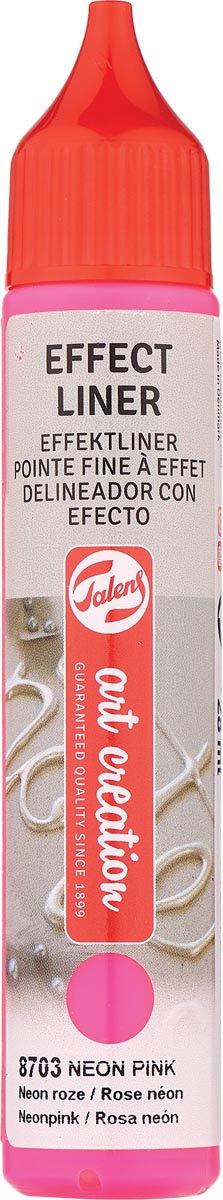 Talens Art Creation effect liner, neon roze