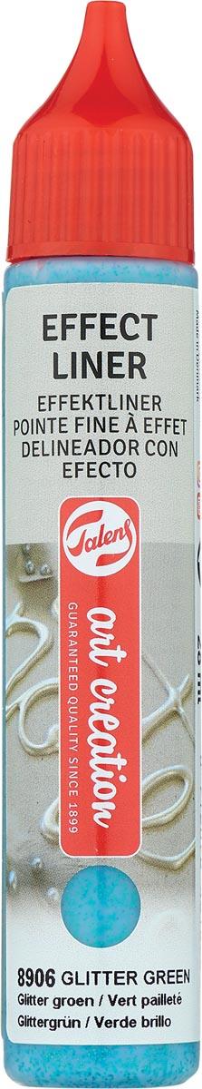 Talens Art Creation effect liner, glitter groen