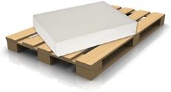 Kopieerpapier ft A4, 75 g, pallet van 200 pakken van 500 vel