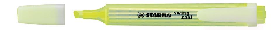 STABILO swing cool markeerstift, geel