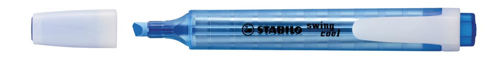 Markeerstift Stabilo Swing Cool blauw