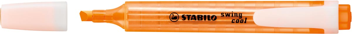 Stabilo Swing Cool Penmodel tekstmarker Schuine punt 1 4 mm Oranje