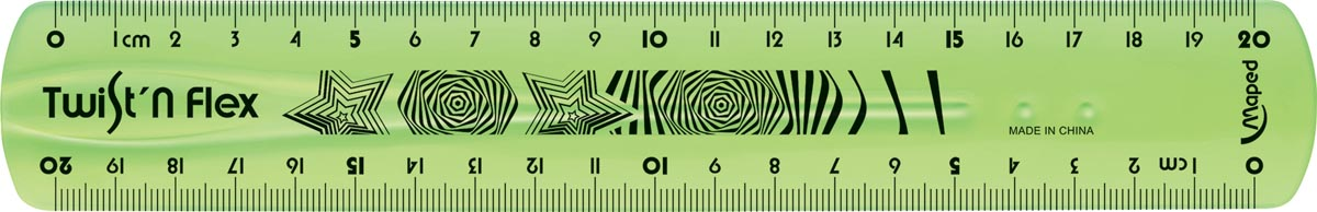 Maped lat Twist'n Flex, 20 cm
