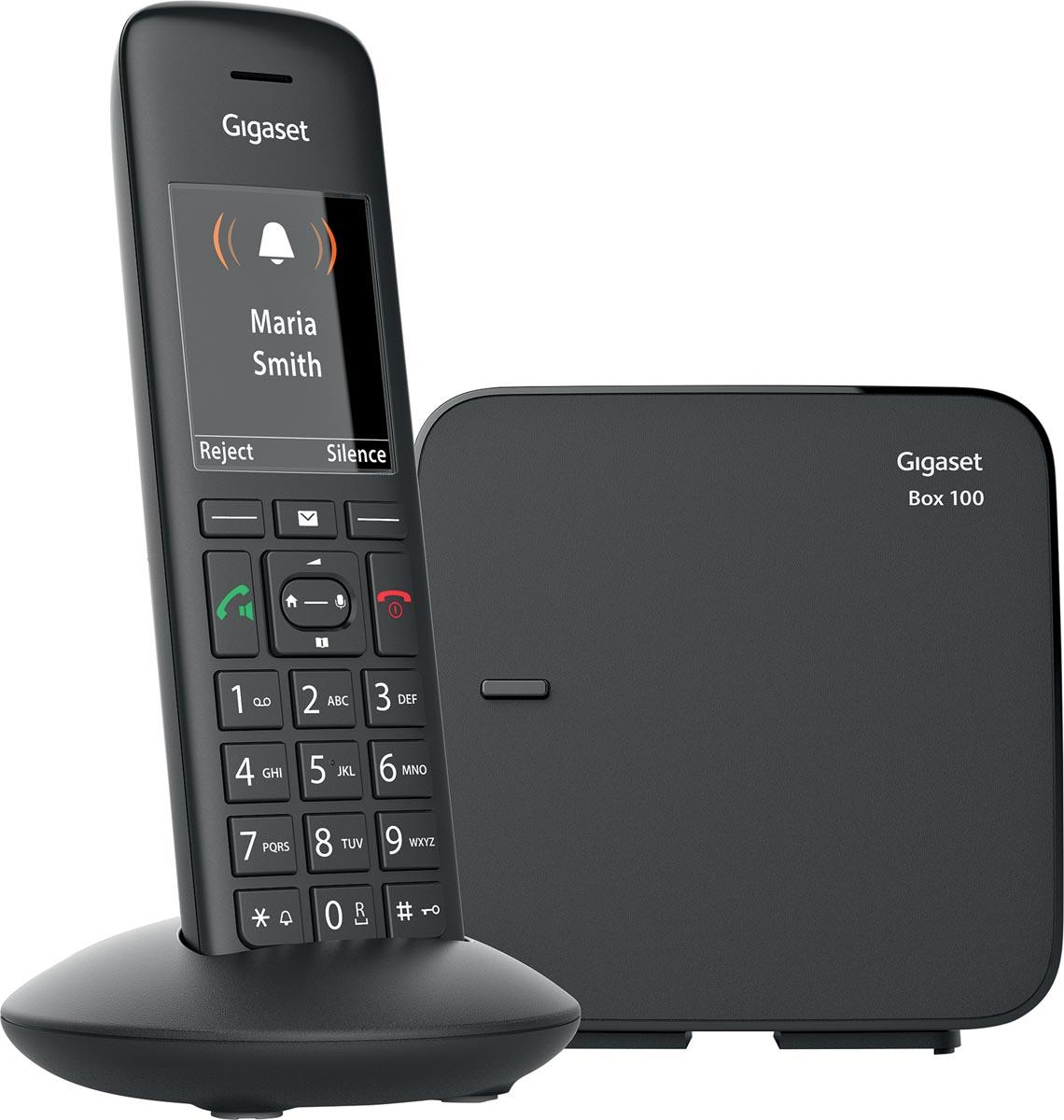 Gigaset C570 draadloze telefoon, zwart