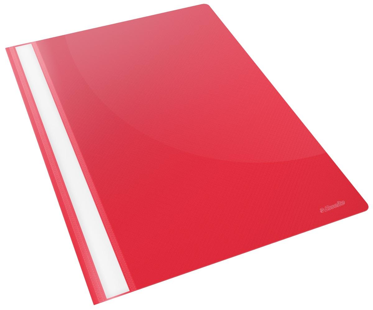 Esselte snelhechtmap Vivida rood, pak van 25 stuks
