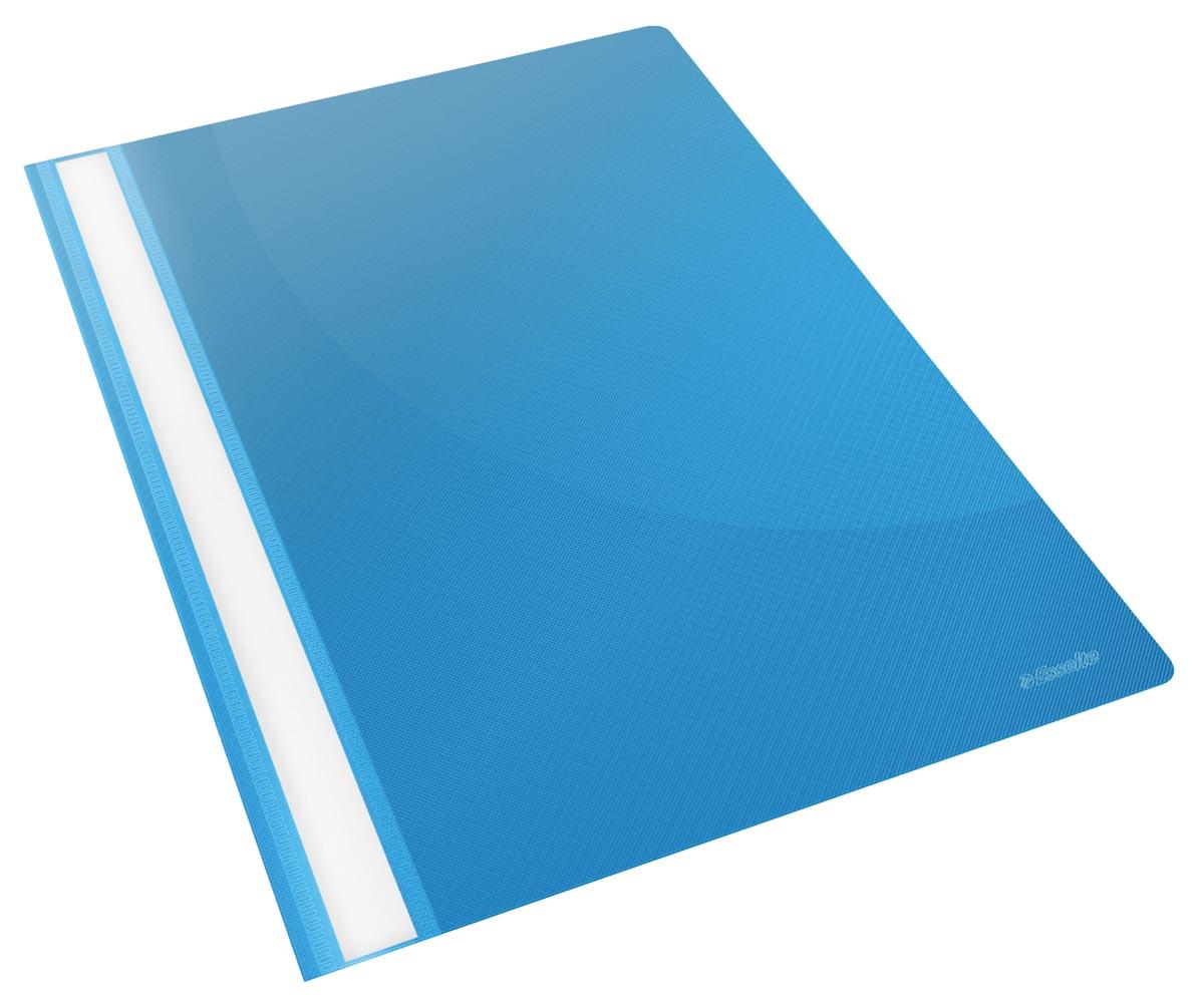 Esselte snelhechtmap Vivida blauw, pak van 25 stuks