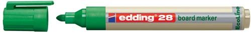 Edding Whiteboardmarker Ecoline e-28 groen
