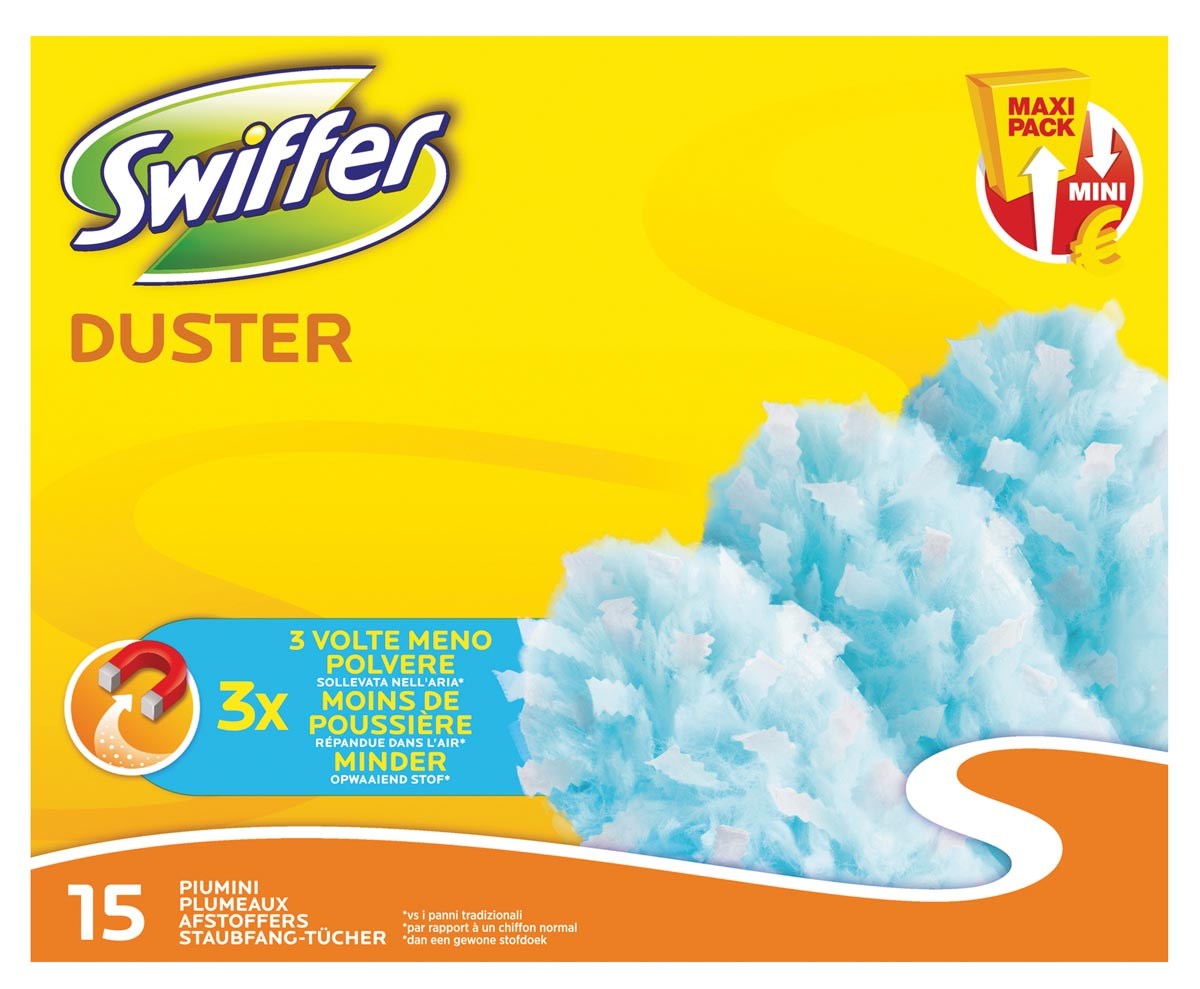 Swiffer duster xxl navulling van 15 stuks