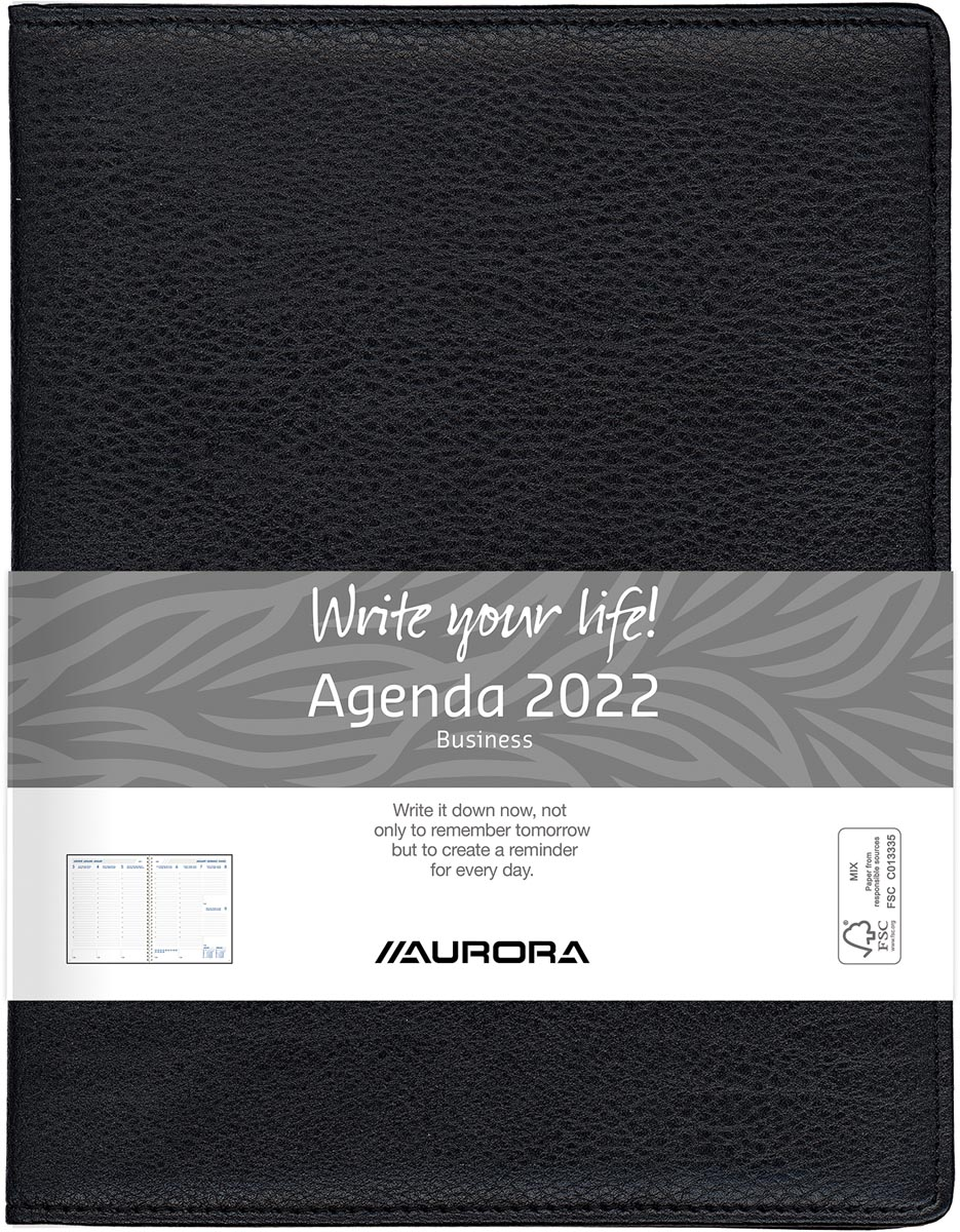 Aurora Business 29P Finesse, zwart, 2022