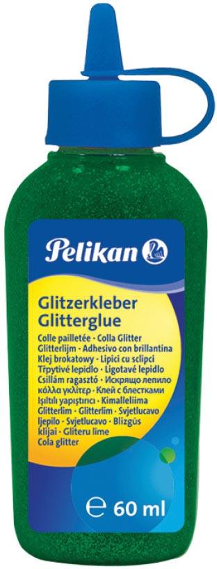 Pelikan glitterlijm, flacon van 60 ml, donkergroen