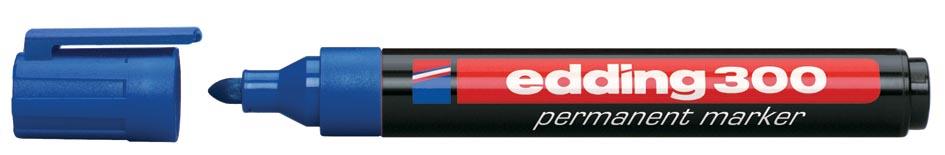 Viltstift Edding 300 rond blauw 1.5-3mm