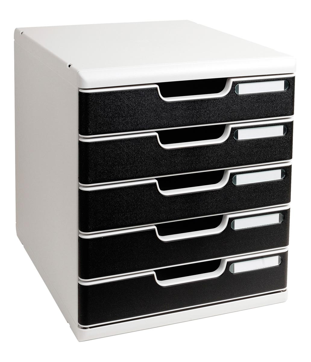 Multiform Ladenblokken Zwart-Grijs A4 35 x 28 8 x 32 cm Stuks