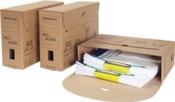 Loeff's Classic box archiefdoos, ft 370 x 260 x 115 mm, bruin, PK50