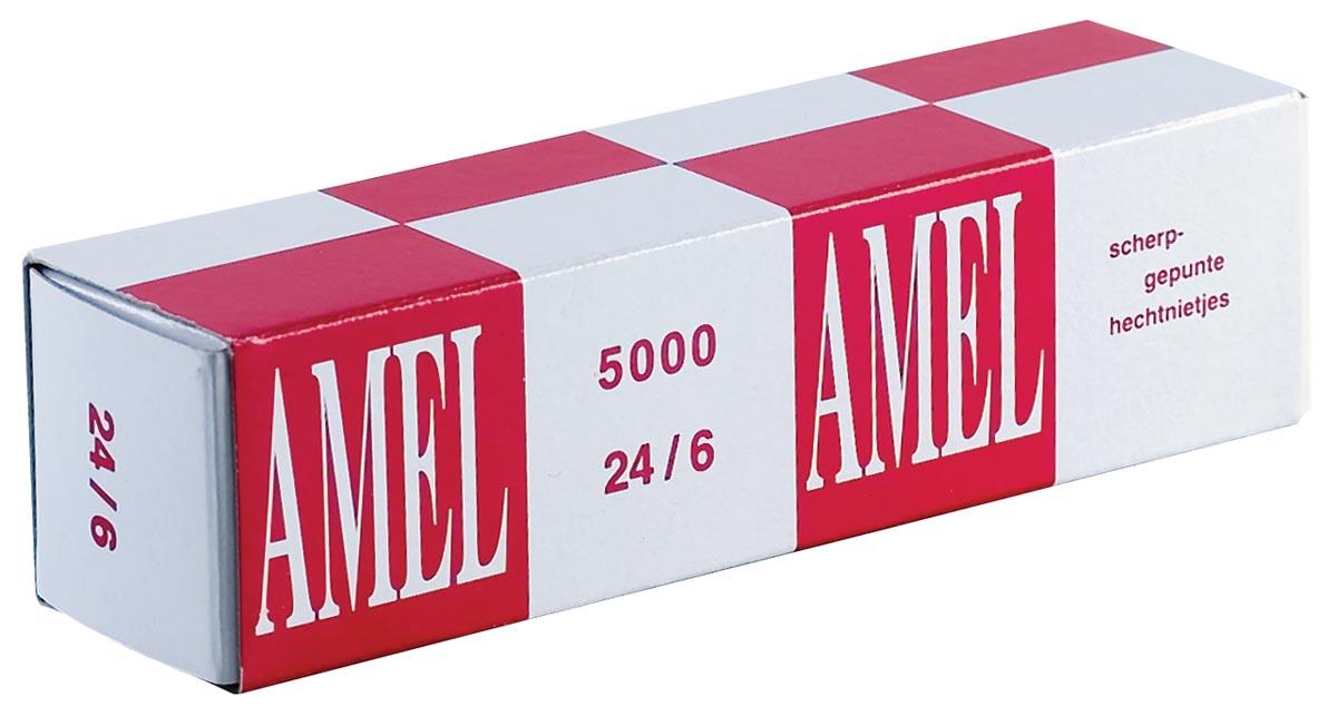 Rexel nietjes 24/6, doos van 5000 stuks