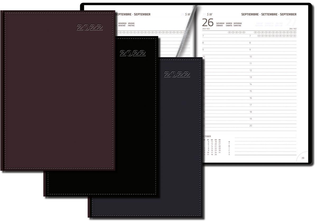 Gallery agenda Businesstimer zonder opdruk, geassorteerde kleuren, 2022