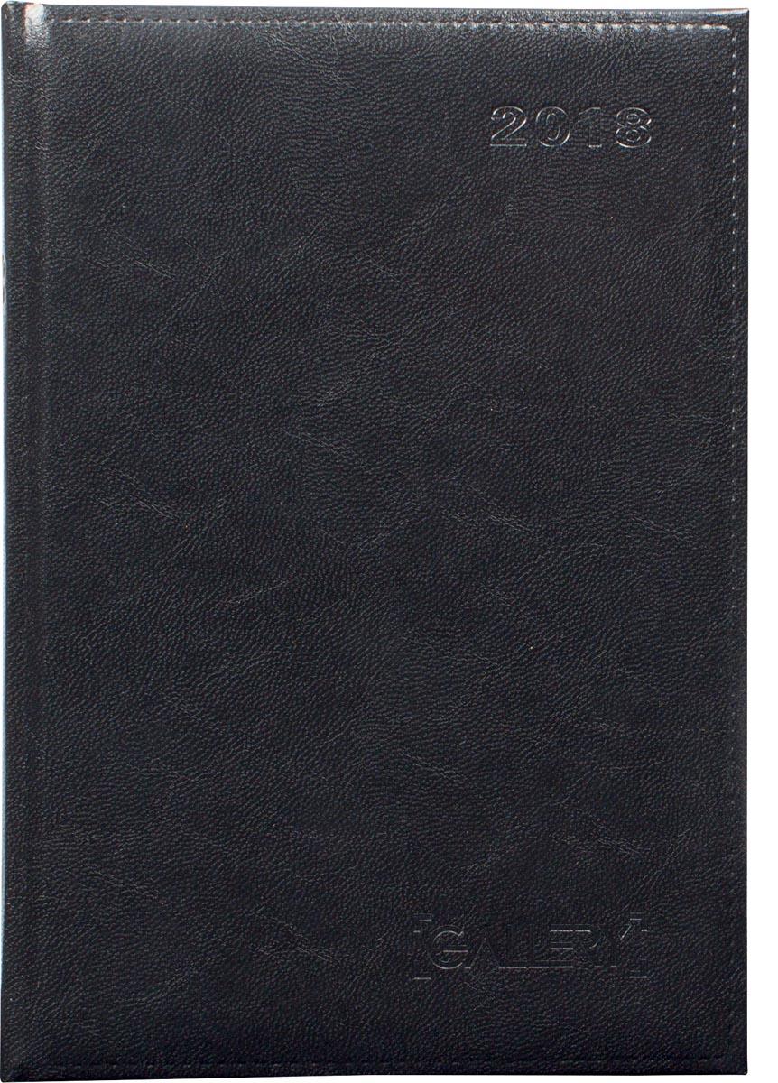 Gallery agenda Businesstimer, zwart, 2018