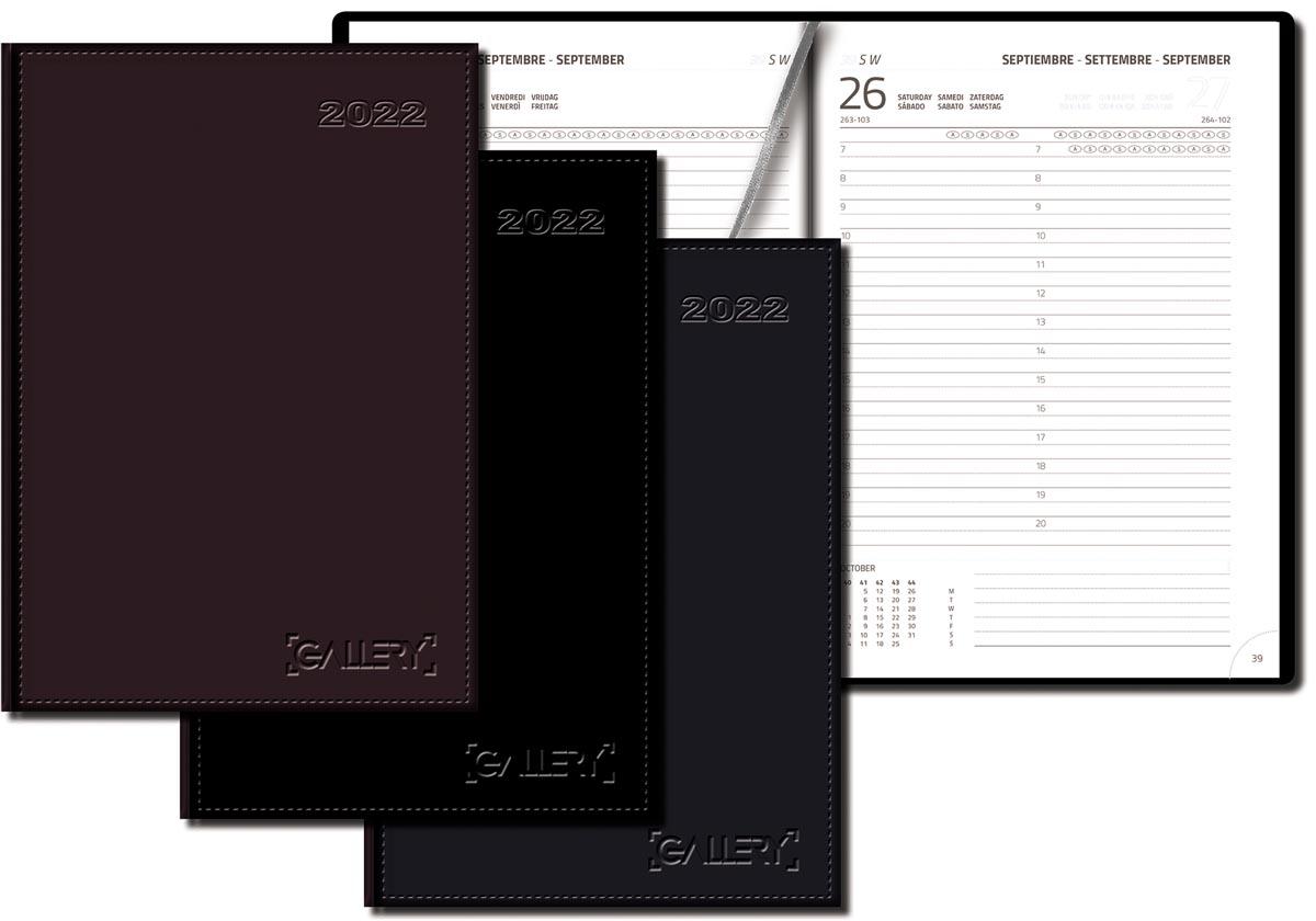 Gallery agenda Businesstimer, geassorteerde kleuren, 2022