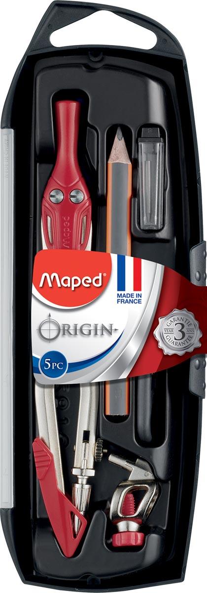 Maped passer Origine, 5-delige passerdoos