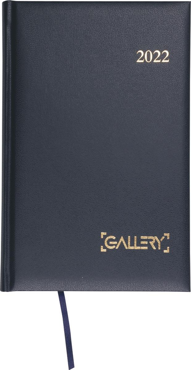 Gallery agenda, Businesstimer, 2022, blauw