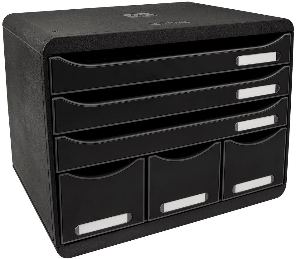 Exacompta ladenblok Storebox Maxi, zwart