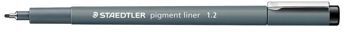 Staedtler fineliner pigment liner 1,2 mm zwart