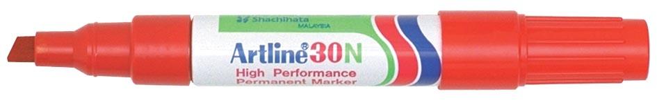 Permanent marker Artline 30 rood