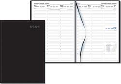 Gallery agenda Weektimer zonder opdruk, zwart, 2020