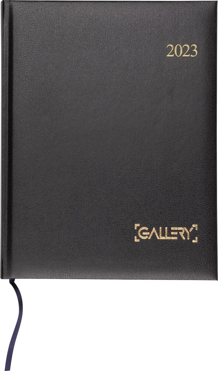 Gallery agenda, weektimer, 2022, zwart