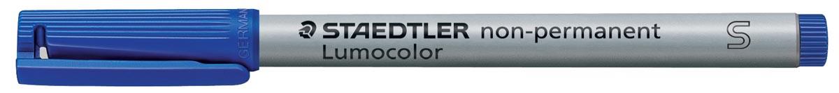 Staedtler OHP-marker Lumocolor Non-Permanent blauw, superfijn 0,4 mm
