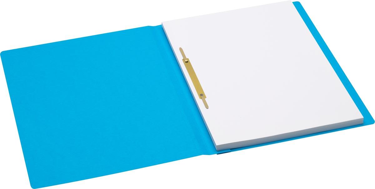 Jalema Secolor hechtmap, ft A4 met snelhechter, pak van 10 stuks, blauw