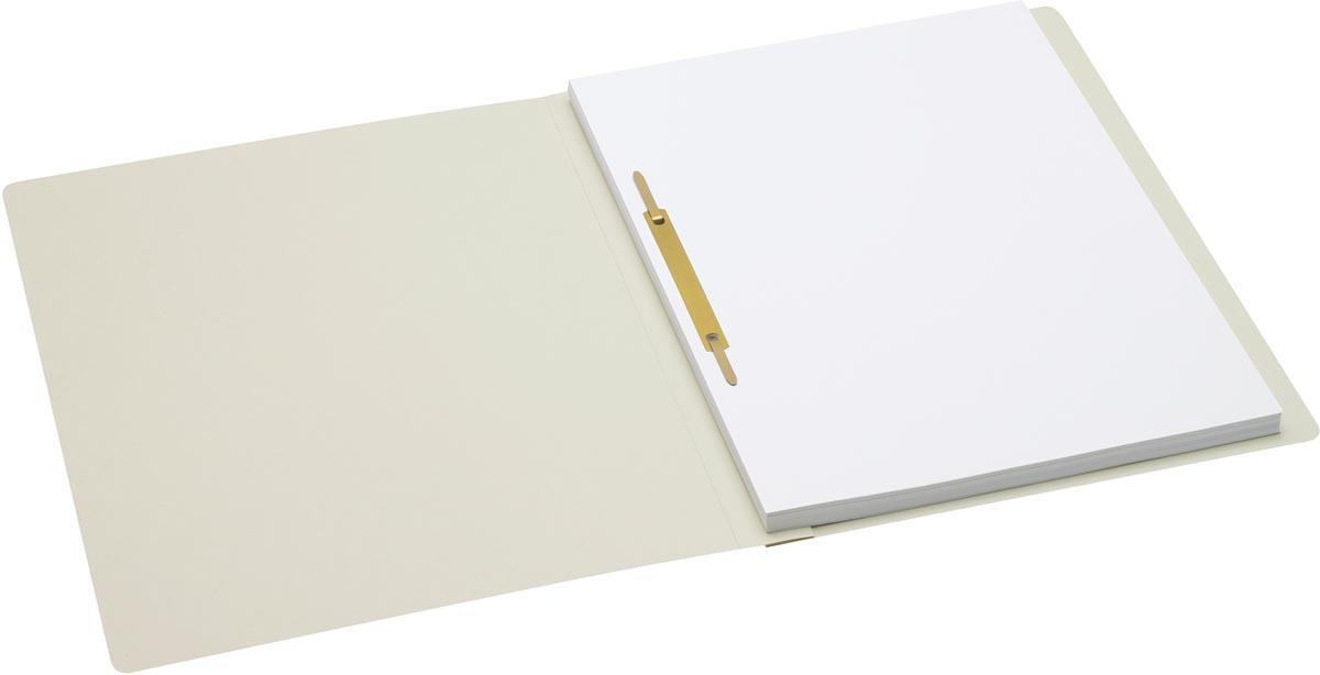Jalema Secolor hechtmap, ft A4 met snelhechter, pak van 10 stuks, grijs