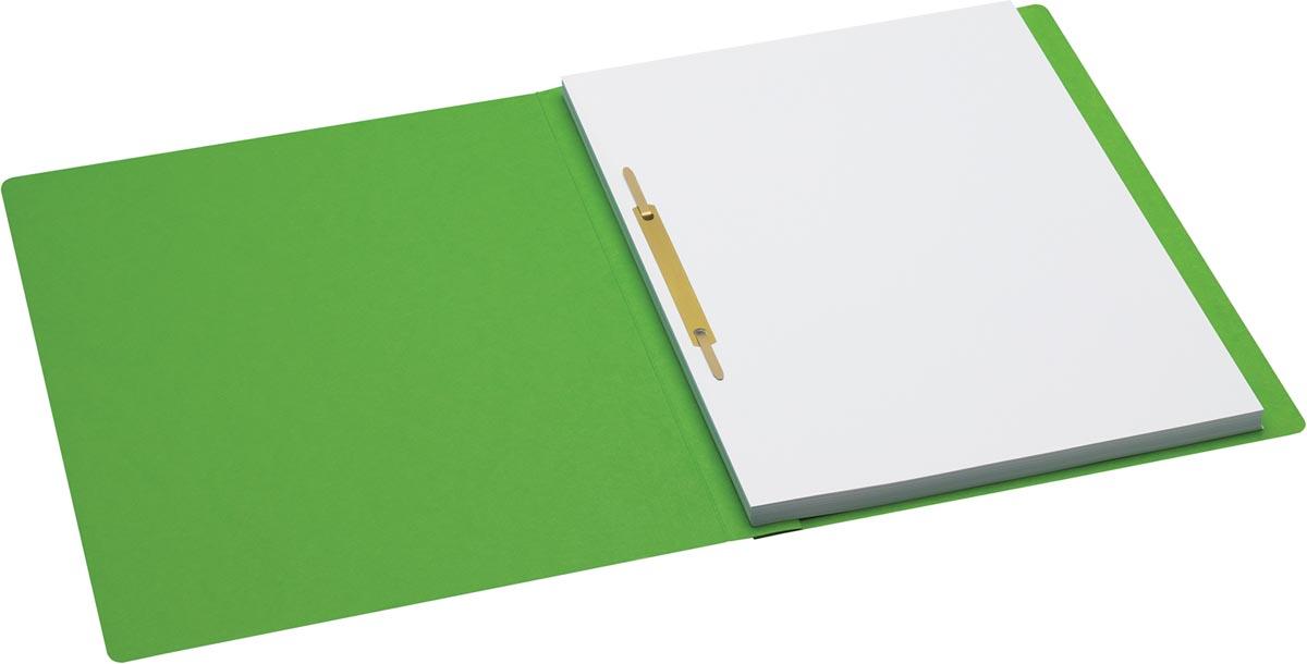 Jalema Secolor hechtmap, ft A4 met snelhechter, pak van 10 stuks, groen