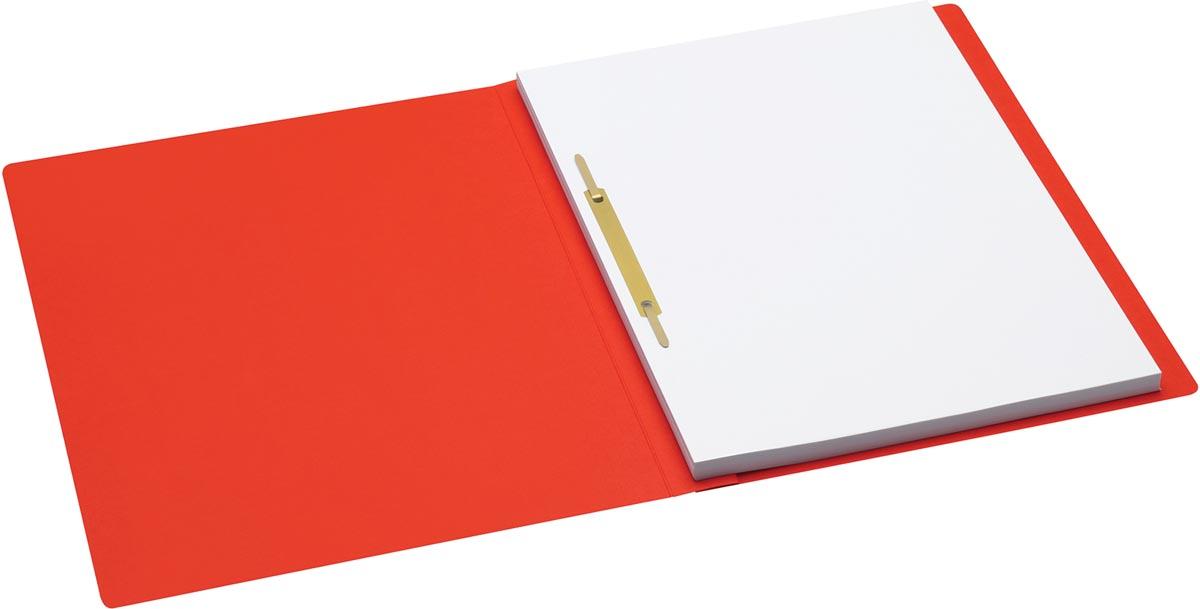 Jalema Secolor hechtmap, ft A4 met snelhechter, pak van 10 stuks, rood