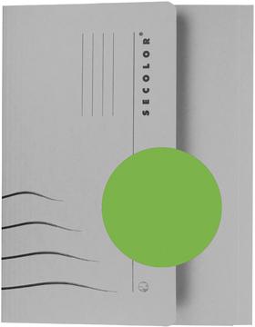Jalema Secolor Pocketmap voor ft folio (34,8 x 23 cm), groen