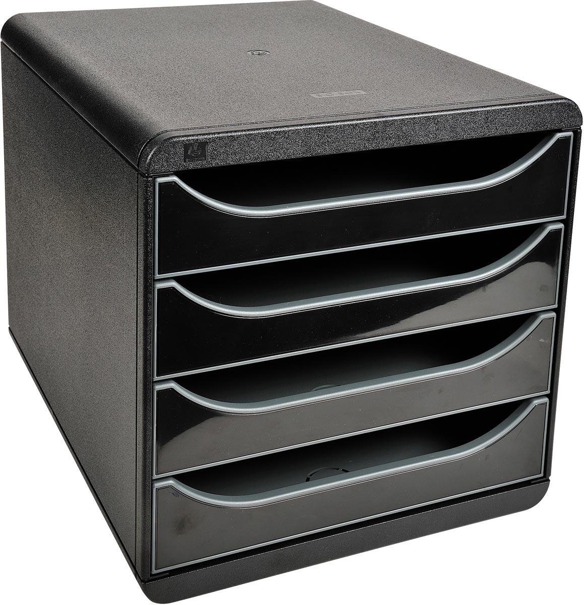 Exacompta ladenblok Big-Box zwart