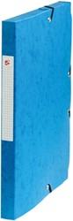 5 Star elastobox, rug van 2,5 cm, donkerblauw