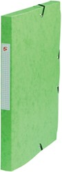 5 Star elastobox, rug van 2,5 cm, groen