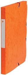 5 Star elastobox, rug van 2,5 cm, oranje
