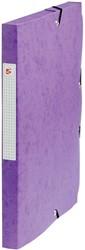 5 Star elastobox, rug van 2,5 cm, paars