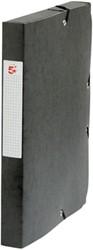 5 Star elastobox, rug van 4 cm, zwart