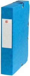 5 Star elastobox, rug van 6 cm, turkoois