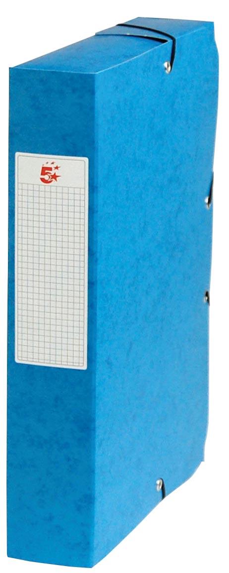 Pergamy elastobox, rug van 6 cm, turkoois