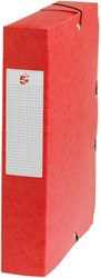 5 Star elastobox, rug van 6 cm, rood