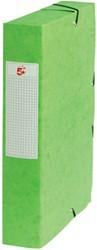 5 Star elastobox, rug van 6 cm, groen
