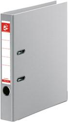 5 Star ordner, ft A4, rug van 5 cm, volledig uit PP, grijs