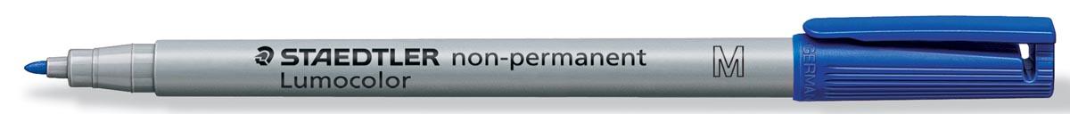 Staedtler OHP-marker Lumocolor Non-Permanent blauw, medium 1 mm