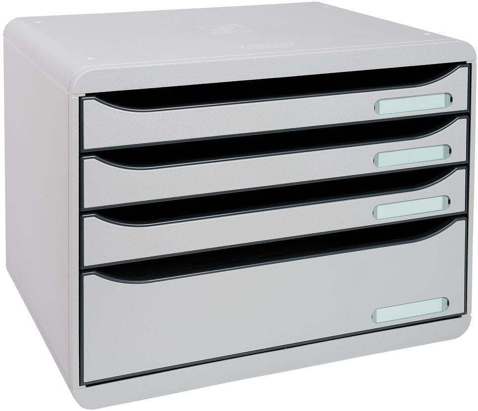 Exacompta ladenblok Big box Horizon Maxi, lichtgrijs