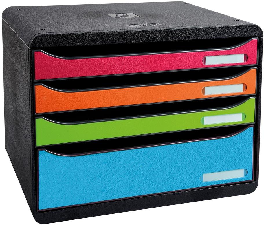 Exacompta ladenblok Big box Horizon Maxi, harlekijn